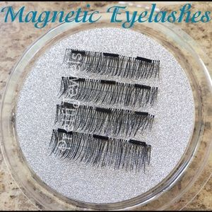 1 Pair 3Magnetic Natural Look Eyelashes